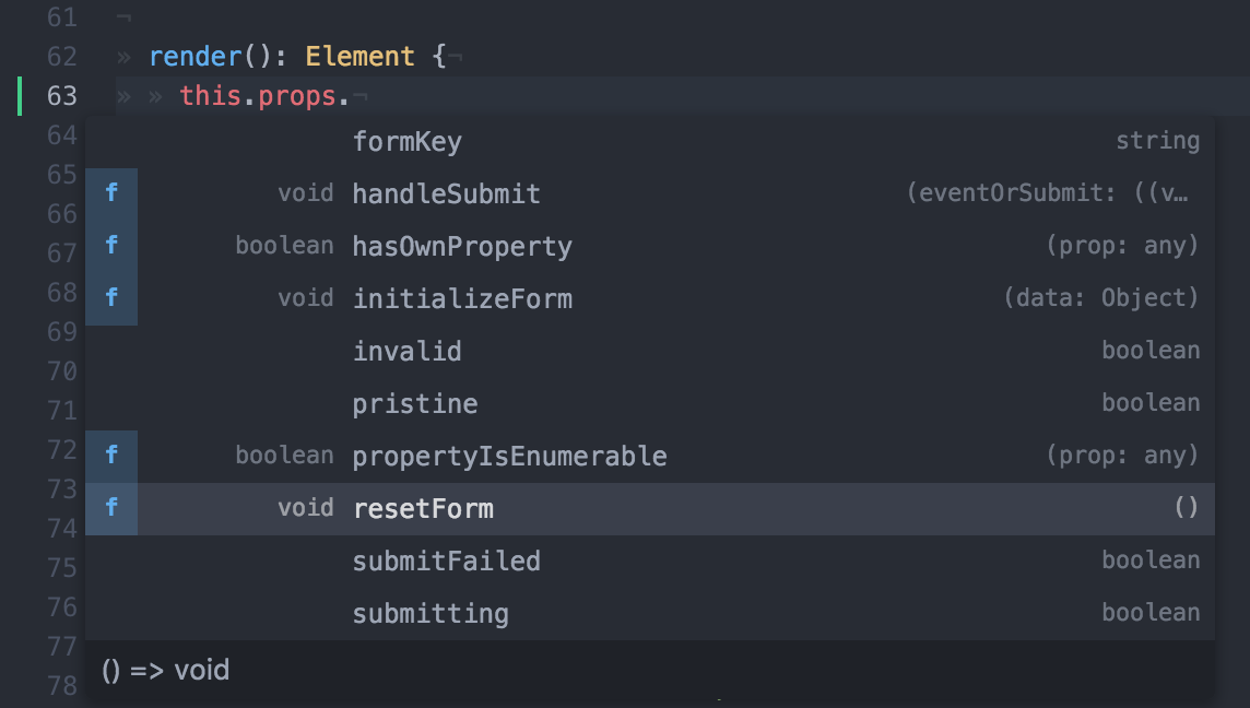 Redux-Form with FlowType